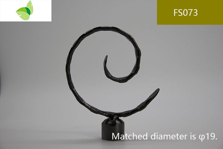 FS073,iron finials