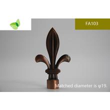 FA103,aluminium alloy finial