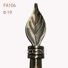 FA106,aluminium alloy finial