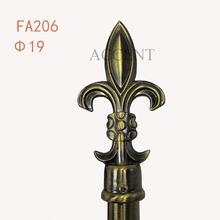 FA206,aluminium alloy finial