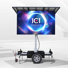 Cheap Price Solar Mobile Led Trailer