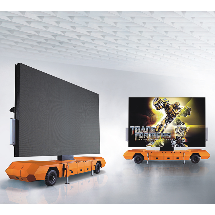Led Screen Mobile Trailer