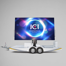 High Quality Foldable Screen Mobile Led Trailer