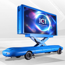 High Quality Tractor Type Led Advertisement Trailer
