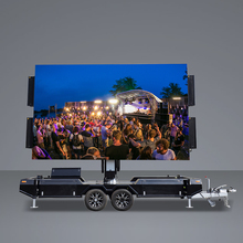New Product Intelligent Remote Control Mobile Led Advertising Trailer