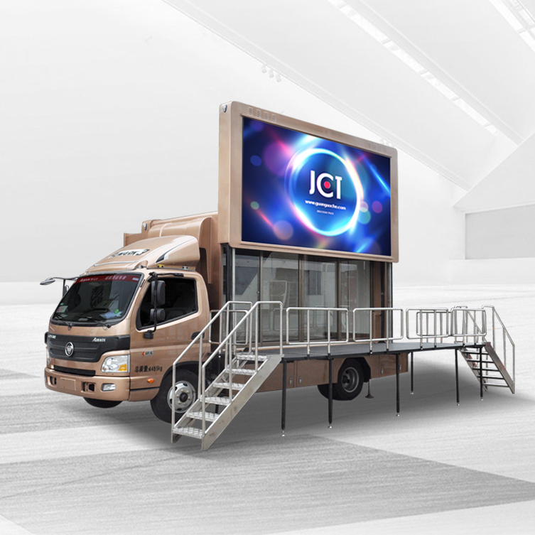 Outdoor Led Mobile Truck