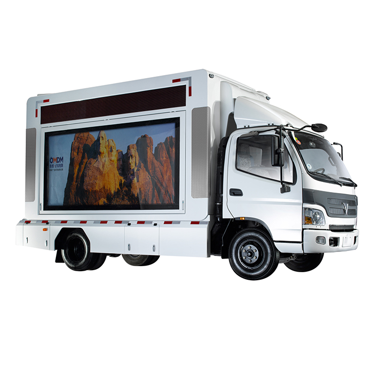 Mobile Outdoor Led Advertising Truck
