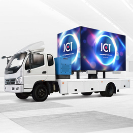 Latest Outdoor Advertising Product  Led Advertising Vehicle