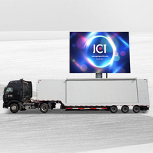 Outdoor Mobile Advertising Led Container Truck