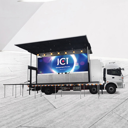 Hot Sale Mobile Advertising Led Stage Truck