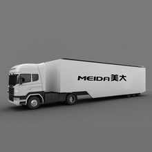 13M Container Advertising LED Truck