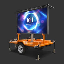 JCT LED VMS Sign Trailer
