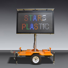 JCT Mobile VMS LED Trailer