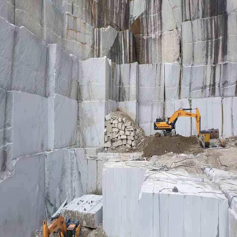 California White Granite Quarry 01
