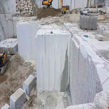California White Granite Quarry 03