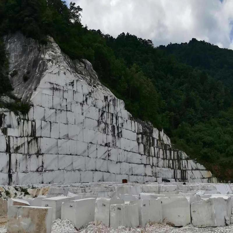 Royal White / Pure White / Han White Marble Quarry 01