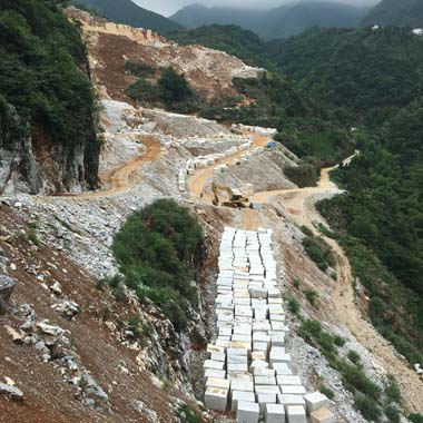 Royal White / Pure White / Han White Marble Quarry 03