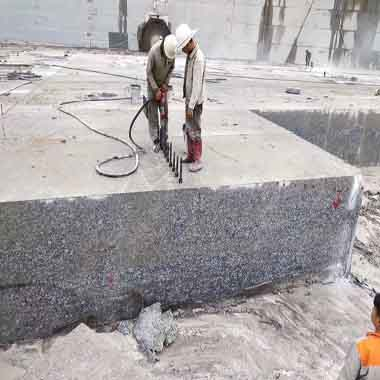 Spray White/Seawave White/Spindrift White Granite Quarry 03