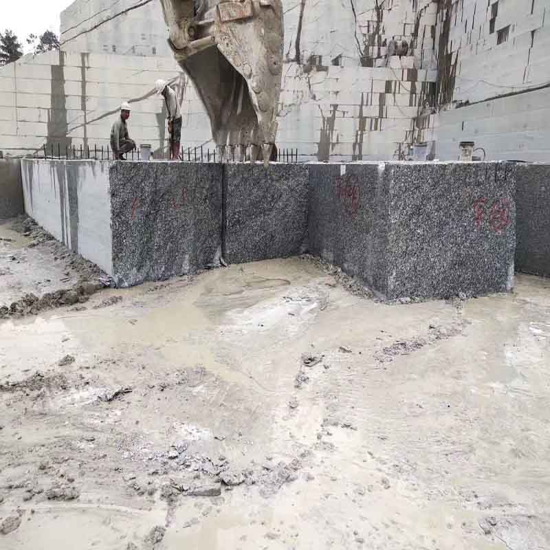 Spray White/Seawave White/Spindrift White Granite Quarry 01