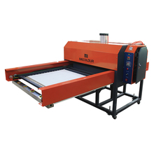 Full-automatic pneumatic double stations heat press machine 80X100cm