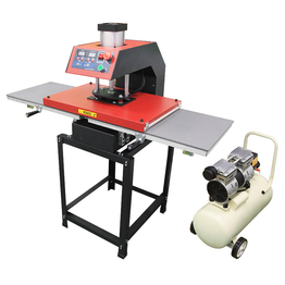 Pneumatic double-station heat press machine  40 * 60cm