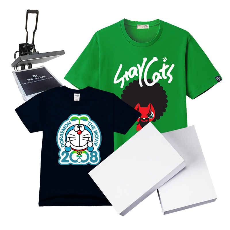 tshirt transfer paper 8-1/2 x 11 dark fabric transfers for use on cotton/polyester blends or 100% cotton use to personalize your t-shirts, hats, aprons and even bags.
