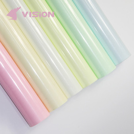 Luminous heat transfer vinyl