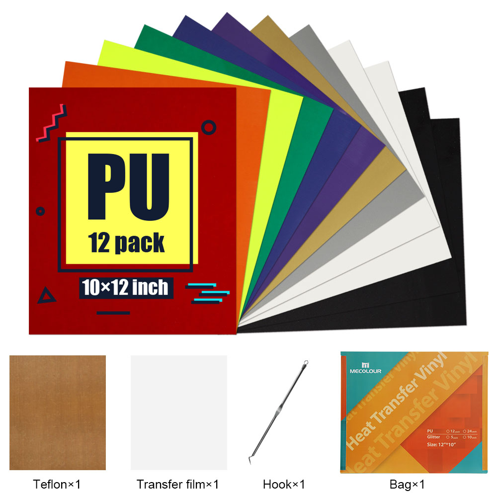 PU Heat transfer vinyl sheets 12