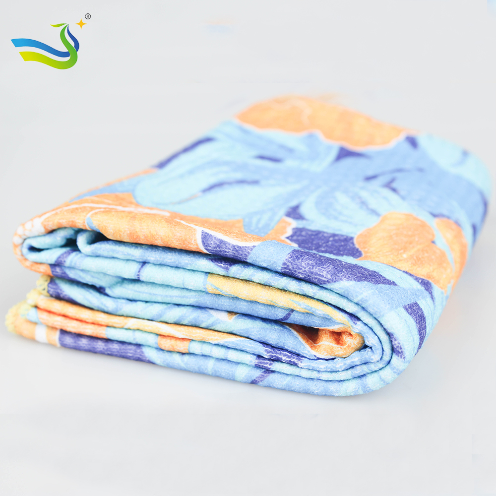 100%microfiber fabric  towel