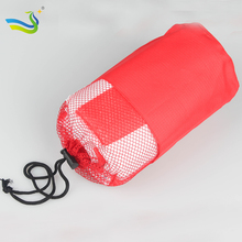100 Polyester Microfiber golf Towel in custom mesh bag China supplier