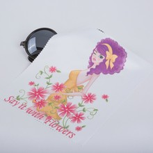 Super Logo Microfiber Glasses Cleaning Cloth Manufacturers_Suppliers_Exporter -ljmicrofiber.com
