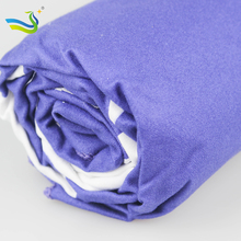 [LJ] digital printing for  sandy free  microfiber beach towel in mesh bag