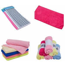 Antibacterial microfabric towel / bath towel/ micro fabric cloth Soft on the skin, more absorbent than cotton