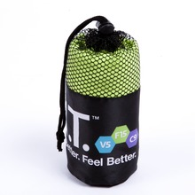 Toalla | promotional microfiber with mesh bag Manufacturers_Suppliers_Exporter -ljmicrofiber.com