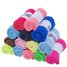 colorful 30*30cm small size Microfiber Car Wash Towel