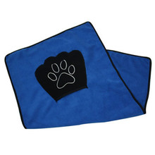 Pet drying ultra-absorbent towel dog bath towel microfiber
