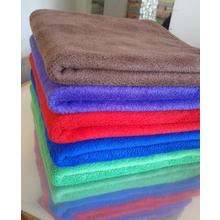 China super soft 80% polyester 20% polyamide 100% polyester wholesale microfiber towel