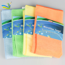 China supplier home  garden microfiber car towel 80% polyester 20% polyamide microfiber towel microfiber cleaning towel