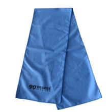 Ultra absorbent suede microfiber towel suede yoga in custom printed mesh bags