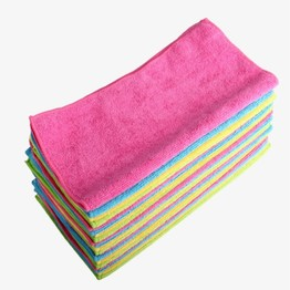 China alibaba microfiber car cleaning towel with good price
