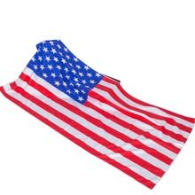 Custom sublimation National flag printed promotional beach towel microfiber