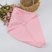 hot sale custom plain hair towel wrap Microfiber turbine twist hair towel