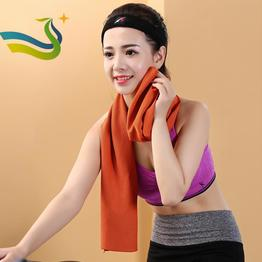 instant cooling towel New-style Microfiber Cooling SportsGym Yoga Towel in plastic bottle