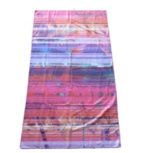 OEM hot selling 100% microfiber printed beach towel swimming sports yoga