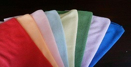 Microfiber towels are made from a high quality and high technology textile material