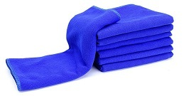 Car wash towel is a silk fabric made of microfiber