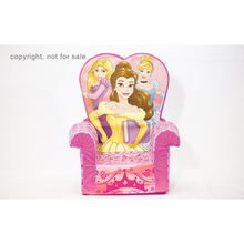 Indoor room game chair high back children armchair disney princess toddler sofa