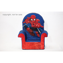Children furniture kid's cute spiderman sofa fun furniture high back chair