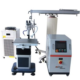 Cantilever mold laser welding machine