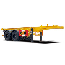 Hot Sale Flatbed Semi Trailer Exports Mula Professional Semi Trailer Mga Kumpanya XXG9280TJZG